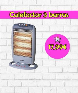 Calefactor 3 barras