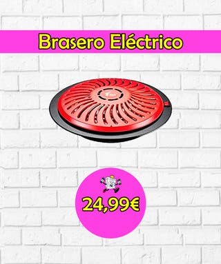 Brasero Eléctrico A+