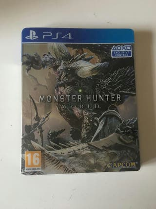 Monster Hunter World Limited Edition (Ps4)