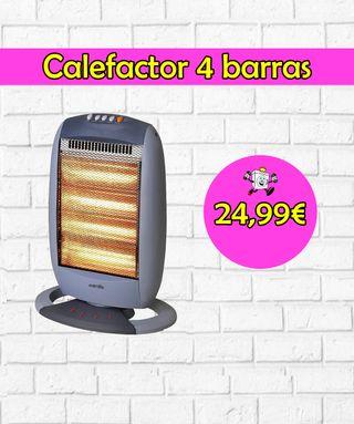 calefactor 4 barras