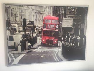 Cuadro Bus Londres