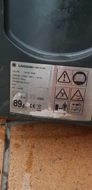 Cortacésped Gardena