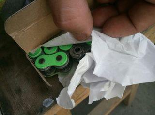 Cadena verde Z900