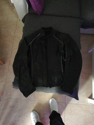 chaqueta piel moto xl
