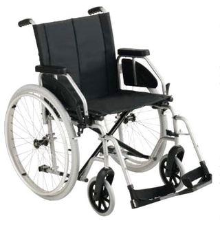 Silla de ruedas plegable y compacta