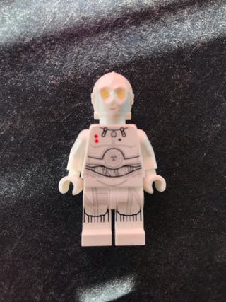 Lego Star Wars mini figura C3-PO blanco