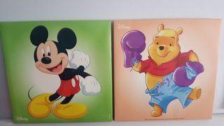 Cuadros Disney