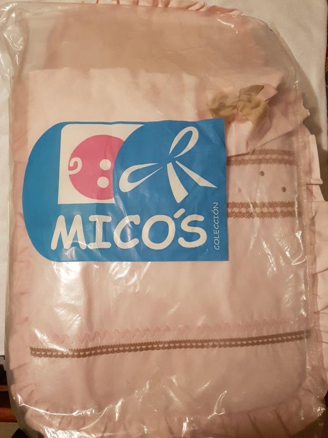 Saco para capazo seminuevo marca Micos