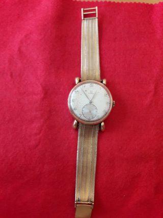 Reloj omega de oro de cuerda