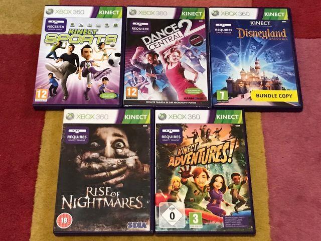 Pack Juegos Para Kinect Xbox 360 De Segunda Mano Por 60 En Mataro