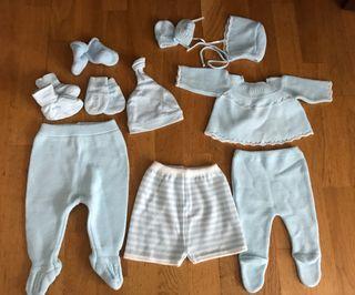 Pack ropa bebe niño