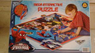 Mega Puzzle interactivo Spiderman