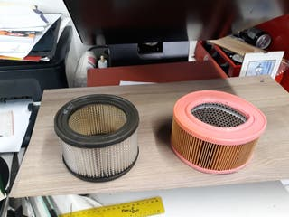 Alpine A110 filtros de aire