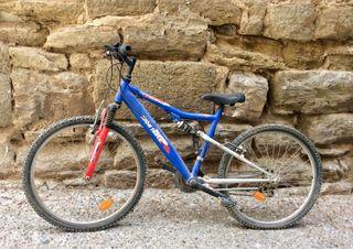 Bici montaña juvenil Iron Track 24TSX