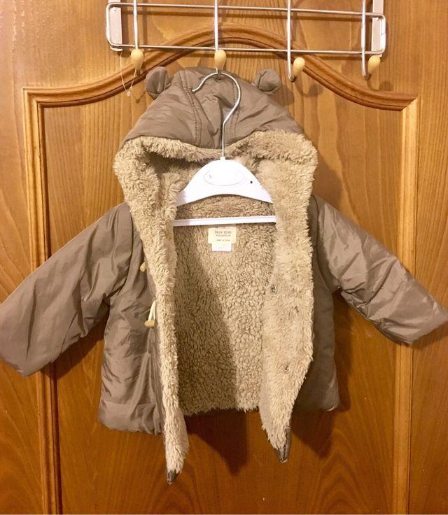 Abrigo bebé Zara Mini