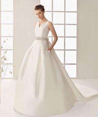 110d420d5 Vestido de fiesta Rosa Clara de segunda mano en la provincia de ...