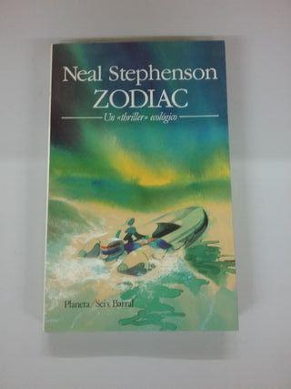 """libro juvenil """"Zodiac"""""""