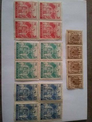 Lote sellos antiguo regimen