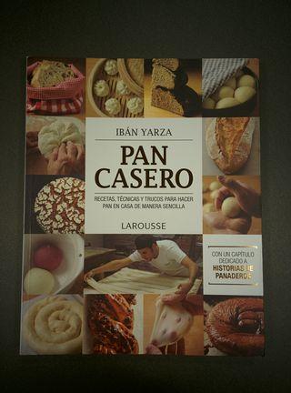 Libro recetas: PAN CASERO de Ibán Yarza
