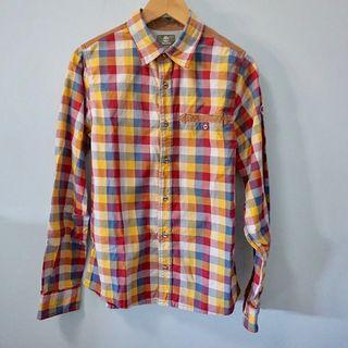 camisa cuadrada de Timberland