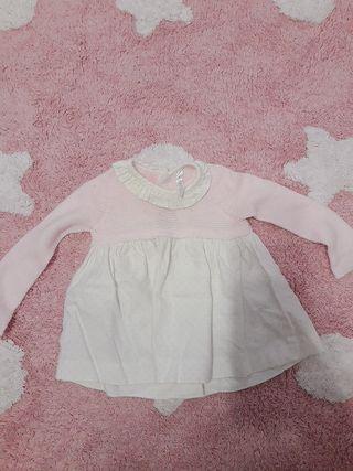 Vestido bebé 1-3M