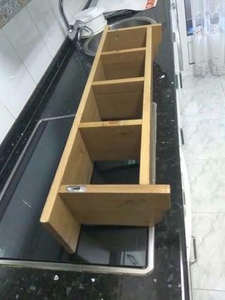 estanteria madera para colgar