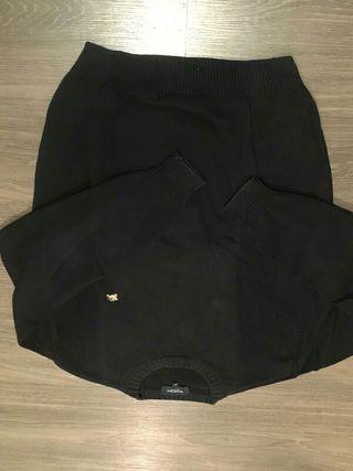 Jersey algodón BURBERRY negro