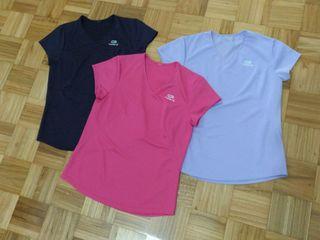 6585ad32a Tres camisetas mujer Decathlon de segunda mano por 9 € en Oviedo en WALLAPOP