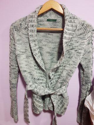 chaqueta de lana cris