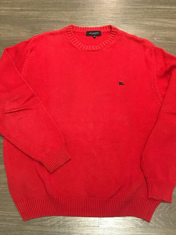 Jersey algodón BURBERRY rojo