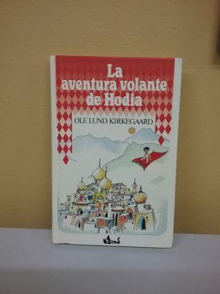 "libro infantil ""La aventura volante de Hodia"""