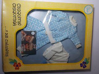pijama de muñeca chiquitin chiquitina de famosa