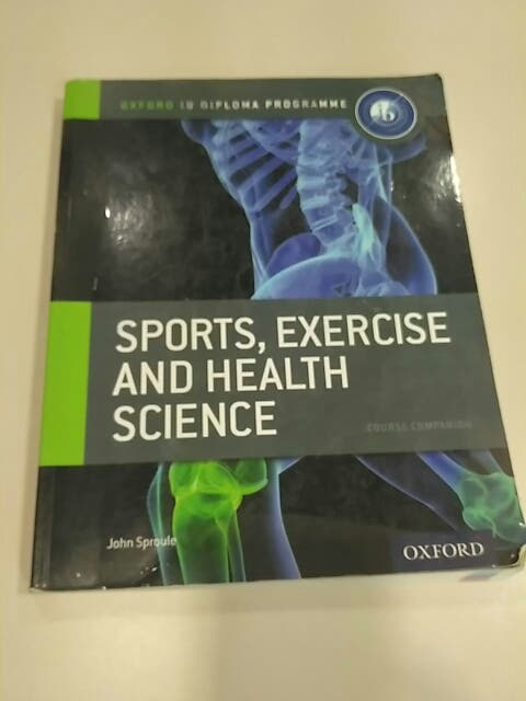 Oxford sports, exercise and health IB