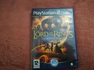 Lord of the rings (el señor de los anillos) ps2