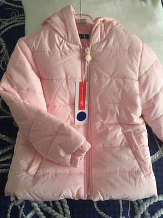 Plumífero abrigo italiano niña nuevo