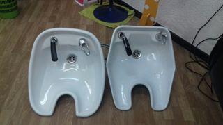 2 lavabos peluqueria