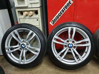 """LLANTAS 18"""" ORIGINALES BMW M"""