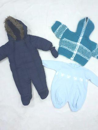 lote 6-9 meses. ropa niño invierno