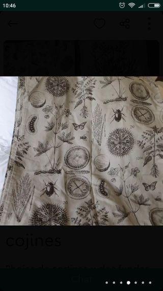 cortinas y cojines ikea