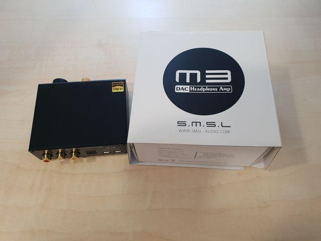 Amplificador SMSL M3 de segunda mano por 50 € en Madrid en