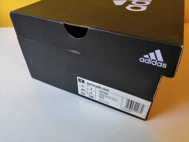 Zapatillas Pádel / Tenis Adidas a estrenar n40
