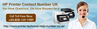 HP Printer Customer Support Number UK 08081691989
