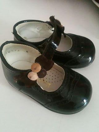 zapato de niña