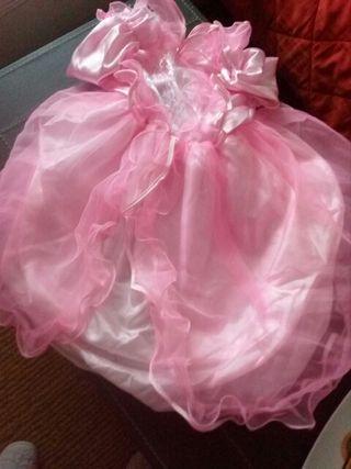 vestido rosa carnaval