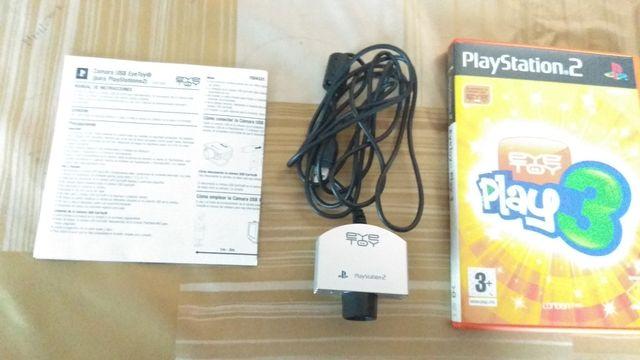 eye toy + juego para PS2