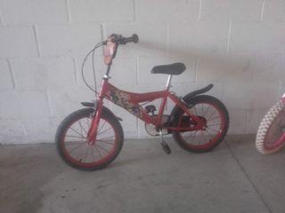 bicicleta niño 3/4 años