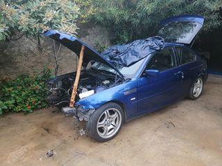 BMW Serie 3 2005 siniestrado se vende a piezas o entero no se le a dado de baja