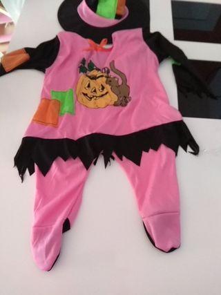 disfraz bruja bebe
