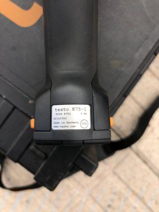 Cámara termográfica infrarrojos Testo 875-1