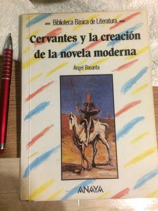 Cervantes y la creación de la novela moderna